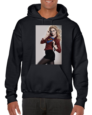 Supergirl Hot Girl Superman Comics Hoodie