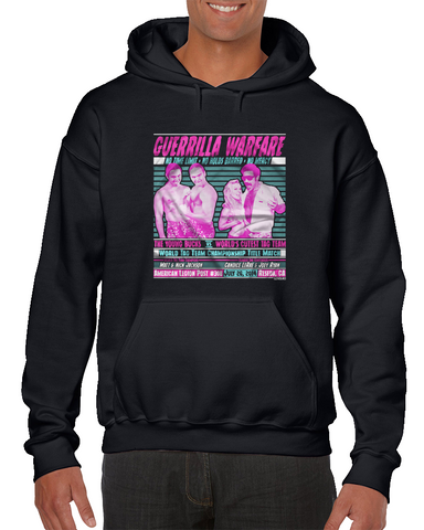- Clotheslined Apparel - Vintage Blend Soft T-shirt Clotheslined Guerrilla Warfare Joey Ryan Hoodie