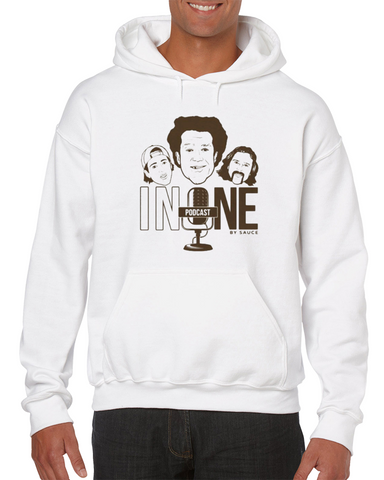 #inone Podcast By Sauce (oatmeal) Sauce Hockey Hoodie