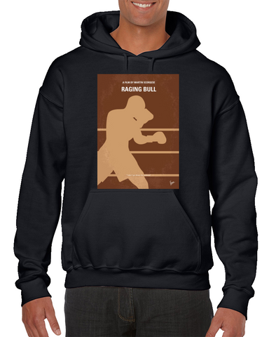Raging Bull Minimal Movie Poster Hoodie