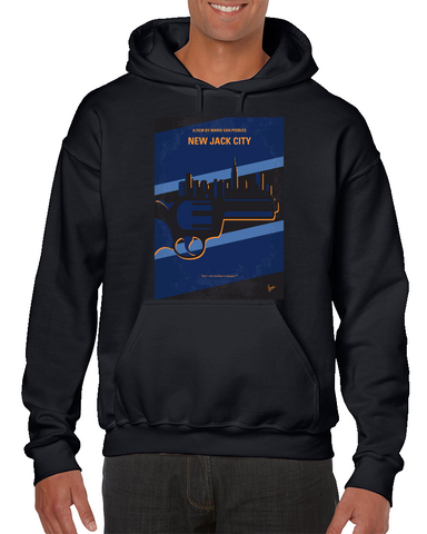 New Jack City Minimal Movie Poster Hoodie