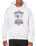 I Eat Terrorism And C Freedom  America Hoodie