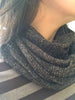 Winter Sparkle infinity Scarf