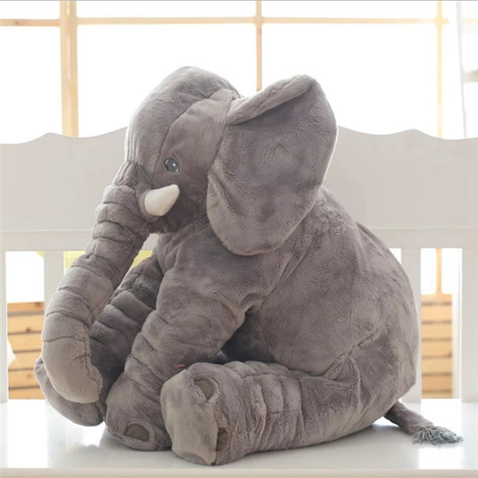 Giant Elephant Baby Pillow-Baby & Mother-fancy2pick.com-40CM-GRAY-fancy2pick