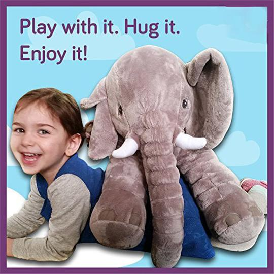Giant Elephant Baby Pillow-Baby & Mother-fancy2pick.com-fancy2pick