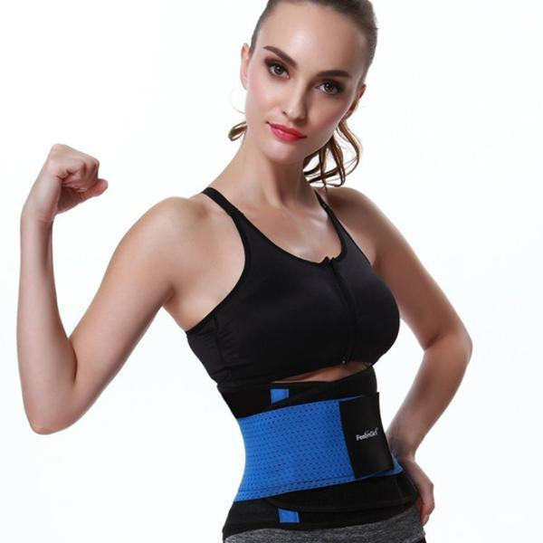 2 in 1 Waist Slimmer Belt-Body Beauty Care-Prime4Choice.com-Blue-S-1 Piece