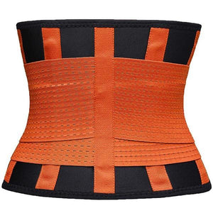 2 in 1 Waist Slimmer Belt-Body Beauty Care-Prime4Choice.com-Orange-S-1 Piece