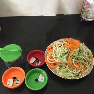 3-Blade Hand-Held Spiralizer-Kitchen Tools & Utensils-fancy2pick.com