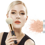 Single loose powder makeup brush
