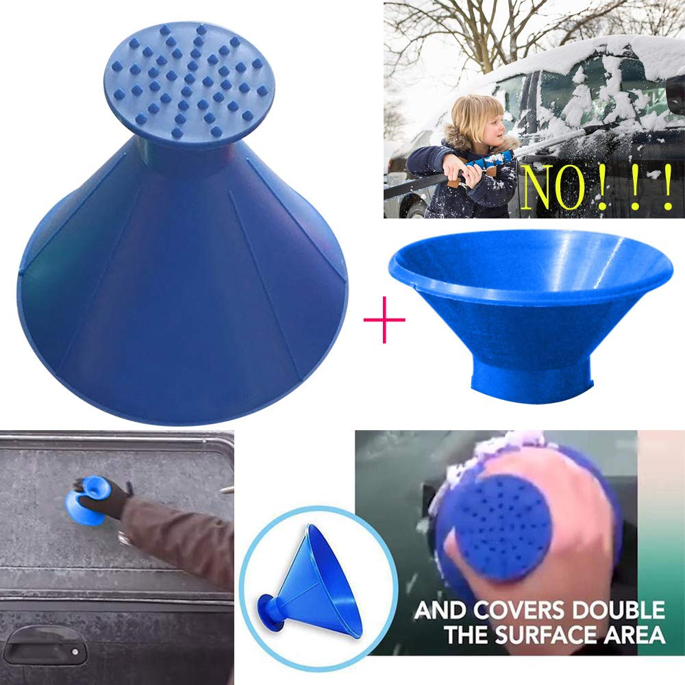 (SAVE $34.8 ONLY TODAY) Scrape a Round Magic Ice Scraper