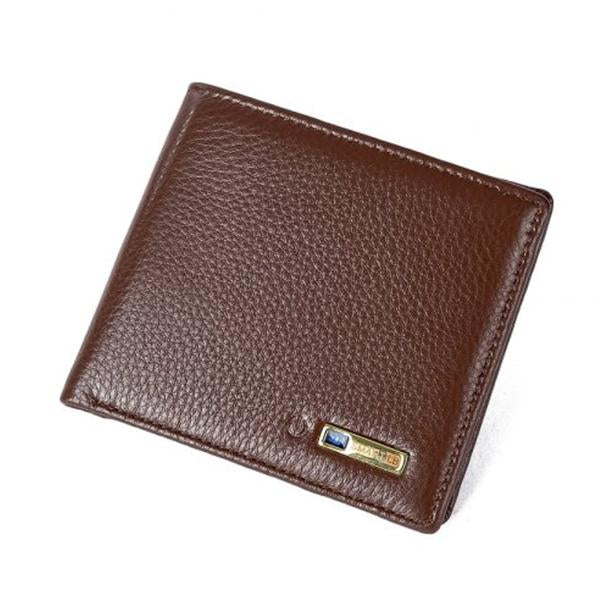 Bluetooth Anti Lost/ Theft Selfie Smart Wallet-Bags-fancy2pick.com-Brown-fancy2pick