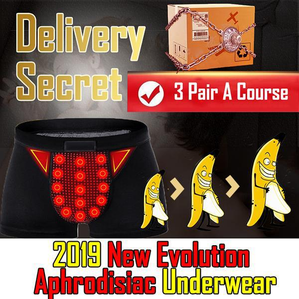Ultra 2019 New Evolution Aphrodisiac Magnetic Underwear