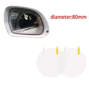 Car Anti-Fog & Anti-Stain Film (2 pcs)