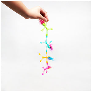 Magno-Z Hair-ee Spring Twin Pack Stretchy Magnetic Toys ( 1PACK=12 PCS )
