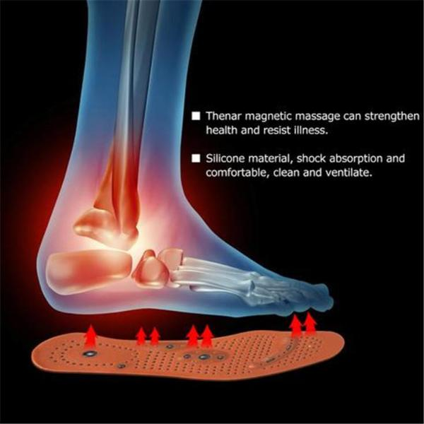 Magnetic Therapy Care Acupressure Slimming Insoles