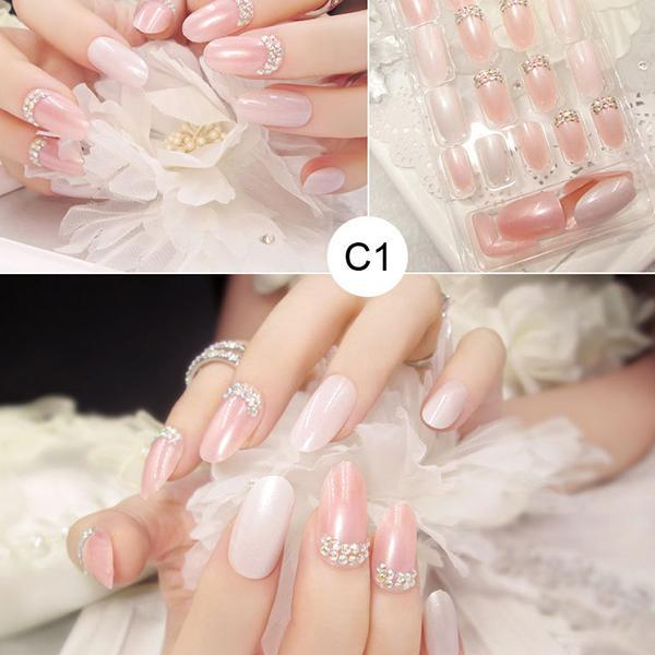 False Nails Bling Glitter Fake Full Nail-Beauty & Fashion-Prime4Choice.com-1-