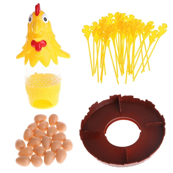 Funny Chicken Drop Board Game Lay Egg Toy-Toys-Prime4Choice.com-