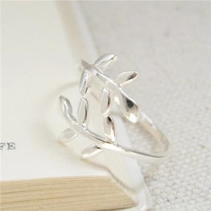 Leaf Branch Laurel Ring-Apparel & Accessories-fancy2pick.com