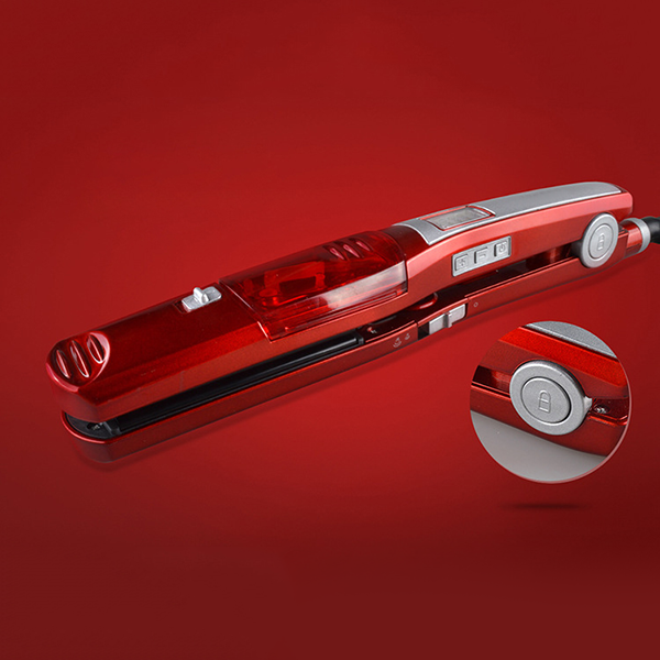Nano Silver Steam Hair Straightener-Hair tools-fancy2pick.com-