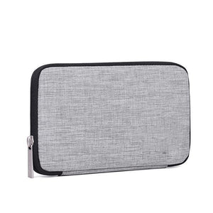 Portable Electronic Accessories Organizer Case-Bags-Prime4Choice.com-Grey-