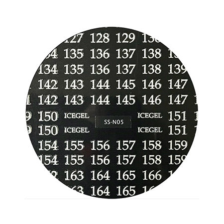 ICE GEL numbering sticker SS-N 05