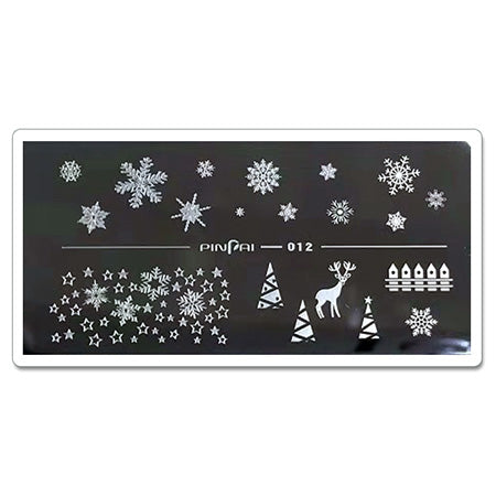 ICE Gel Metal Plate 012 Snow