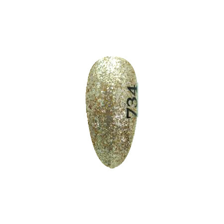 ICE Gel A Black Wheel Gel 734 Gold 3g