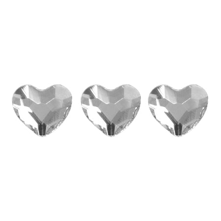 Swarovski Crystal Crystal # 2808 Heart 3.6mm 10P