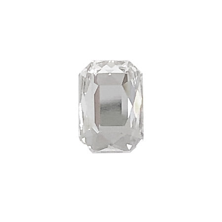 Swarovski Crystal # 2602 Emerald Cut Crystal  8 x 5.5mm 6p