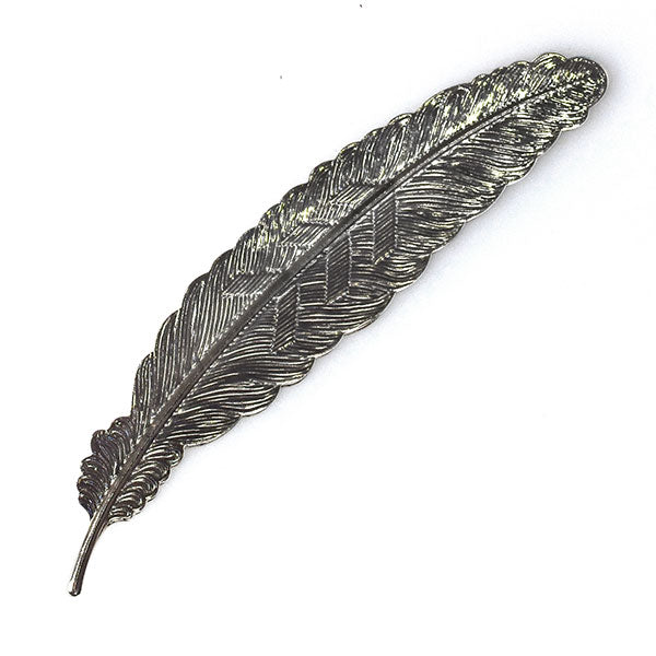 Bonnail Display Feather Chrome Black
