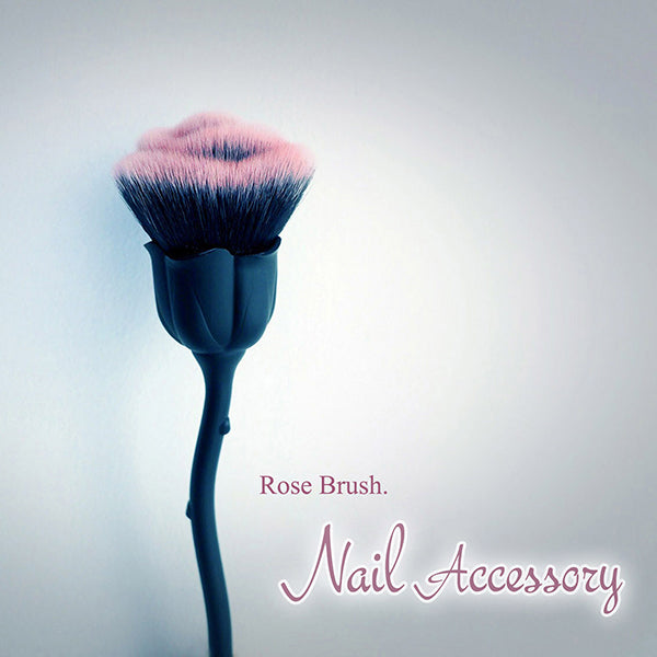 Nail accessories Rose Dust Brush Black