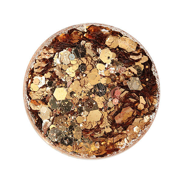 SHAREYDVA Glitter Holistic Gold