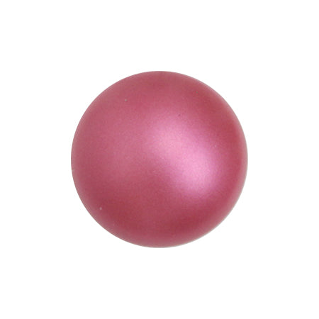 Swarovski Crystal Mulberry Pink  # 5817 Pearl (no semicircle hole)