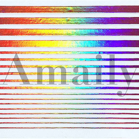 Amaily nail seal  No. 9-13 line (PG)  55mm length x 85mm width