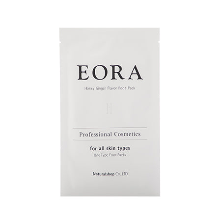 EORA EGF Foot Pack Salon Set Honey ginger 10 bags