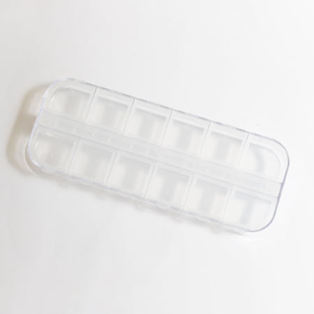 SHAREYDVA Clear Accessories Case 12pces