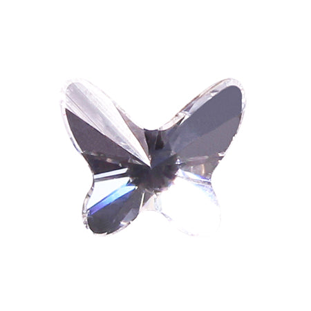 Swarovski Crystal # 2854 Butterfly Crystal  8mm 3p