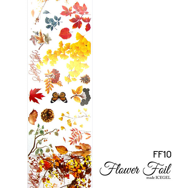 ICE GEL flower wheel FF10 Autumn Garden