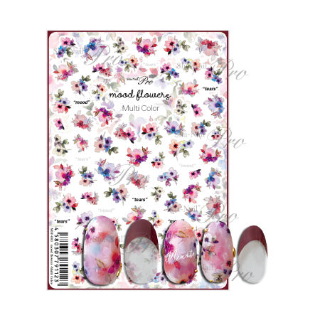 Photo nail PRO  Mood flower multi-color