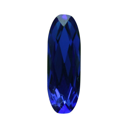 Swarovski Majestic Blue #4161 Baguette type 15 × 5 mm