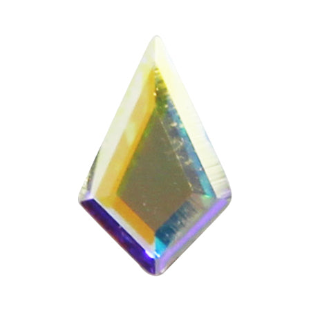Swarovski Crystal # 2771 Kite Crystal AB  6.4 × 4.2mm 4P