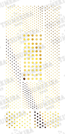 [27562]Tsumekira Dot Gold SG-DOT-104 (Gel Only)