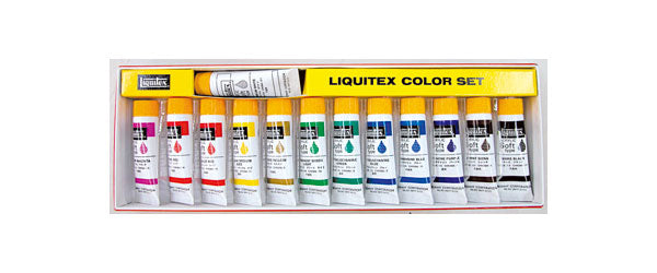 Liquitex Color Set 13 Colors
