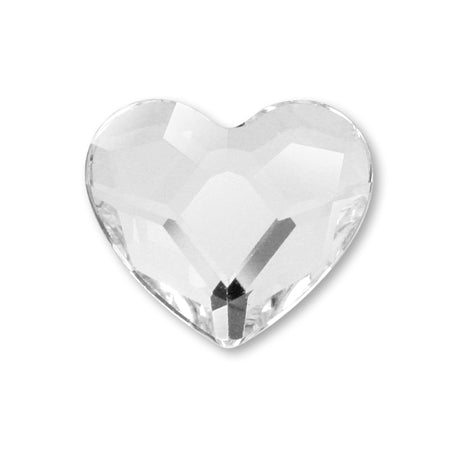 Swarovski Crystal #2808 Heart M 6 mm 6 P