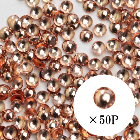 SHAREYDVA Studs Pink Gold 1.5mm 50p