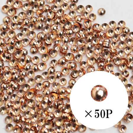 SHAREYDVA Studs Pink Gold 1mm 50p