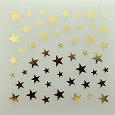 SHAREYDVA Nail Stickers Gold Star