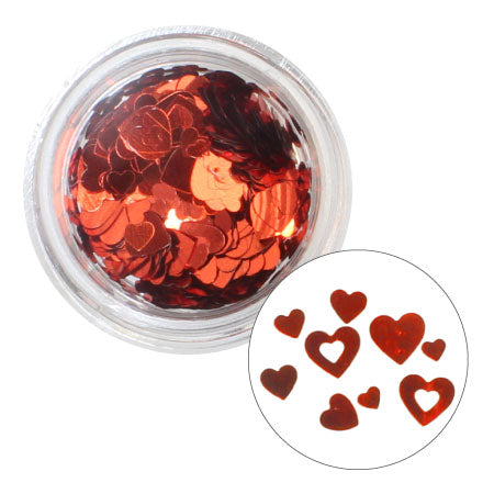 Charlon inside Out Heart Mix Red