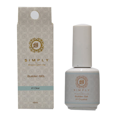 【25654】BEAUTY NAILER SIMPLY Builder Gel # Clear