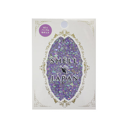 SHELL JAPAN Shell Sticker Purple Mosaic